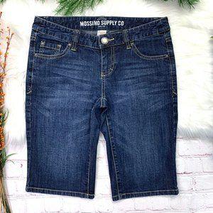 I•MOSSIMO•I Bermuda Jean Shorts